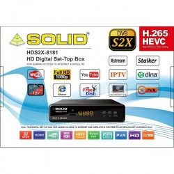 SOLID HDS2X-8181 H.265 HEVC...